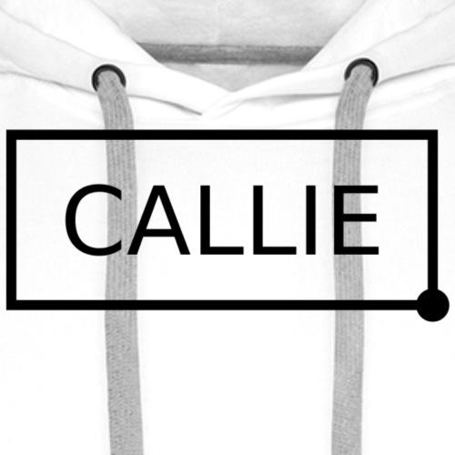 Callie. - Mannen Premium hoodie
