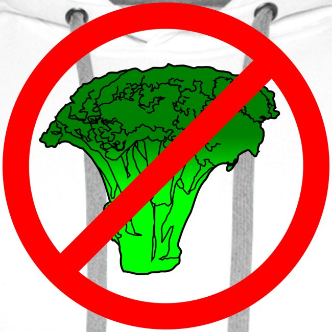 no broccoli allowed