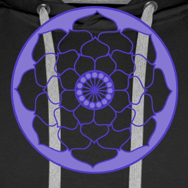 Purple Lotus Flower Mandala