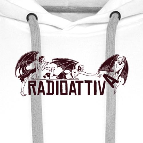 Radioattiva (Devil Edition 2020) - Felpa con cappuccio premium da uomo