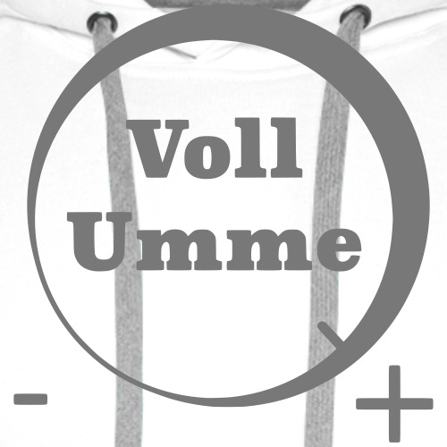 Voll Umme - Männer Premium Hoodie