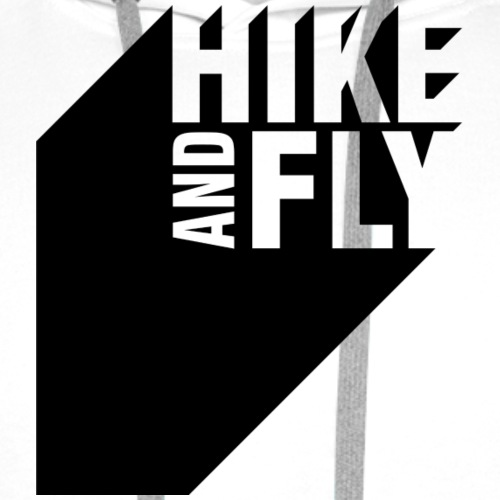 Hike and Fly Paragliding 3D - Männer Premium Hoodie