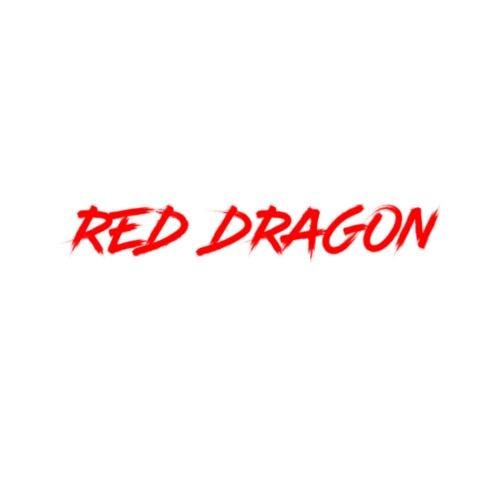 Red Dragon - Mannen Premium hoodie