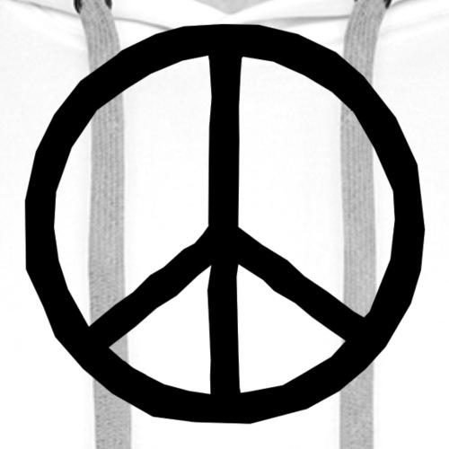 peace I Frieden - Männer Premium Hoodie