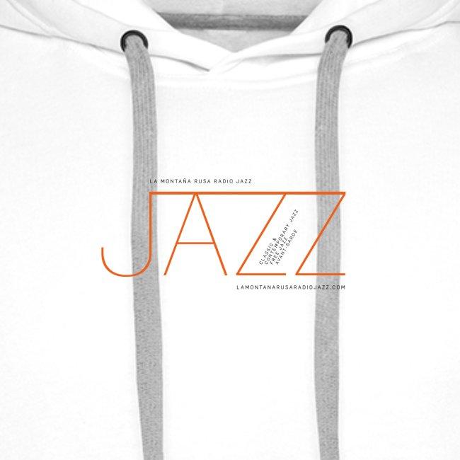 La Montaña Rusa Radio Jazz Modelo, blanco backgr