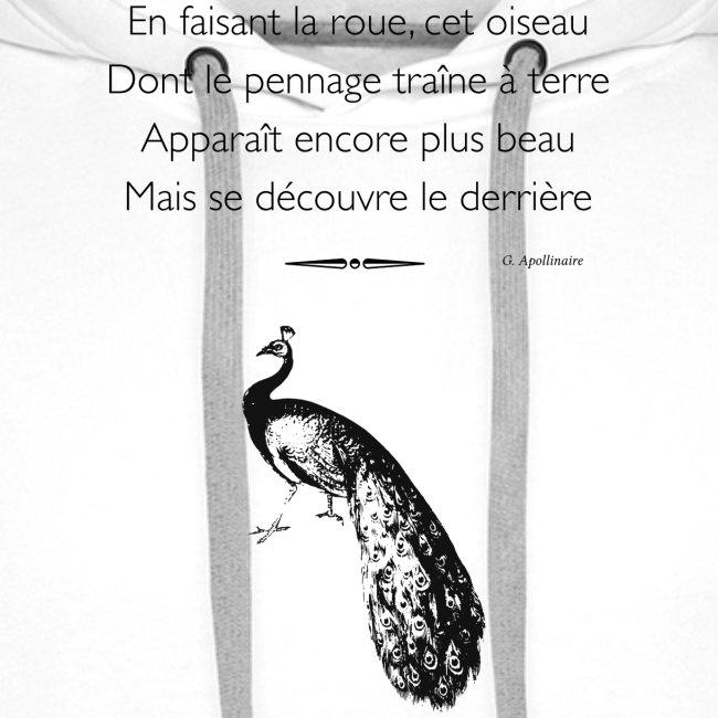 Le Paon d'Apollinaire