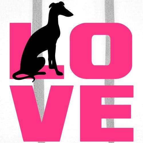 Galgo Love - Männer Premium Hoodie