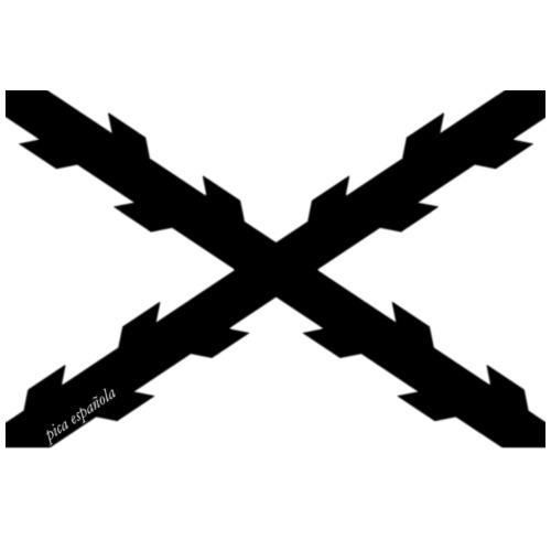 Negra picaesp - Sudadera con capucha premium para hombre