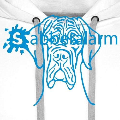 Sabberalarm - Hund - bis 2 Farben - Männer Premium Hoodie