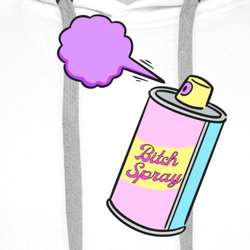 Bitch spray - Sweat-shirt à capuche Premium pour hommes