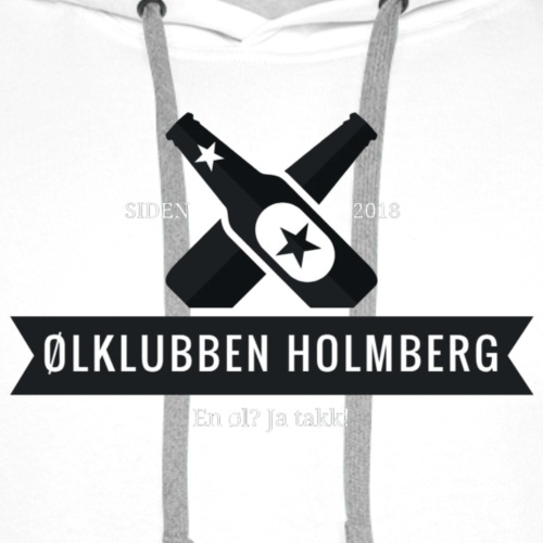Øl-forkle - Premium hettegenser for menn