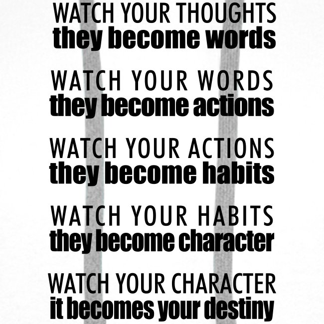 watch your thoughts