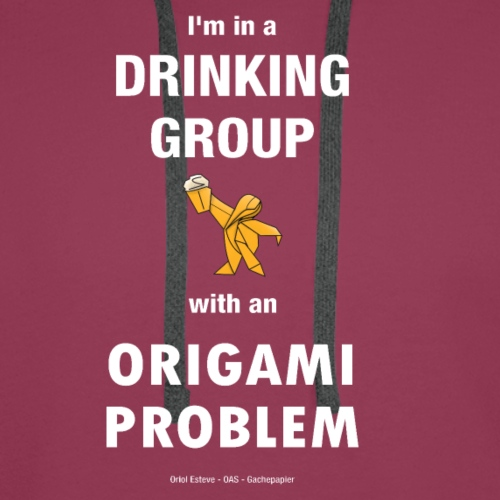 I'm in a drinking group with an origami problem