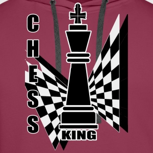 Chess king - Premiumluvtröja herr