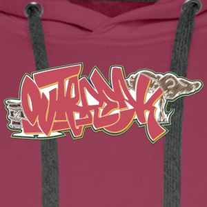 rue cool graffiti art - Sweat-shirt à capuche Premium pour hommes