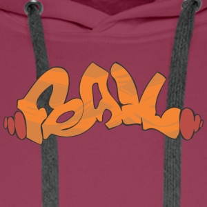 feail graffiti - Premium hettegenser for menn