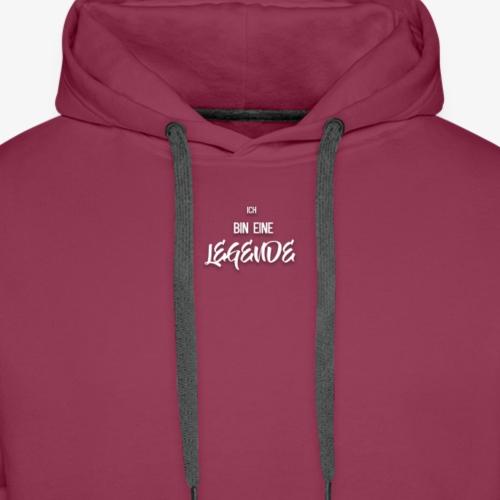 ''Ich bin eine Legende'' T-Shirt - Männer Premium Hoodie