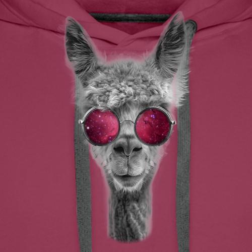 Space Lama - Men's Premium Hoodie