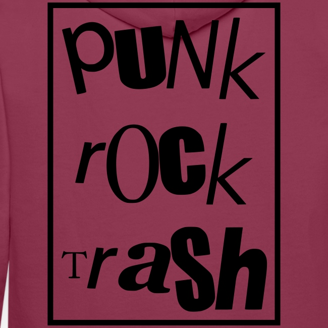 Punk rock trash