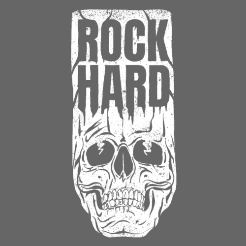 rock hard - Premiumluvtröja herr