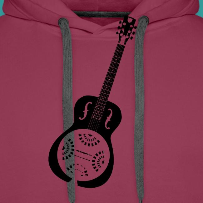 Blues Slide Guitar Stencil