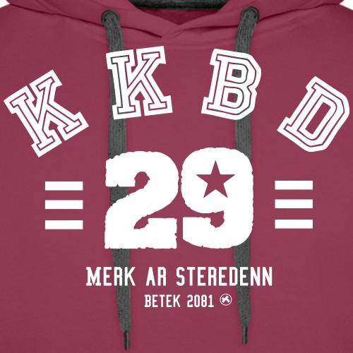 KKBd skol - Sweat-shirt à capuche Premium pour hommes