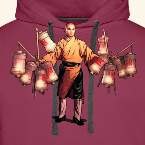 Shaolin Warrior Monk - Mannen Premium hoodie