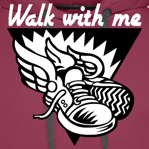 WALK WITH ME - Men's Premium Hoodie
