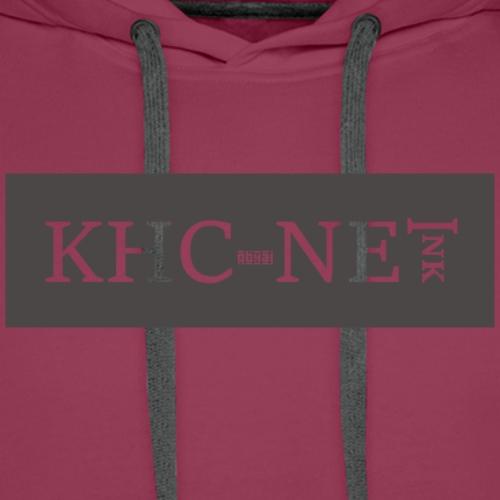 KHC-NET ink (super) - Premium hettegenser for menn
