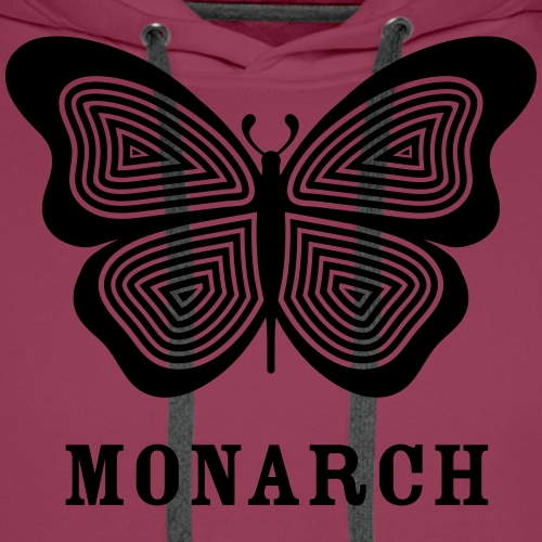monarch MK ultra - Sweat-shirt à capuche Premium pour hommes