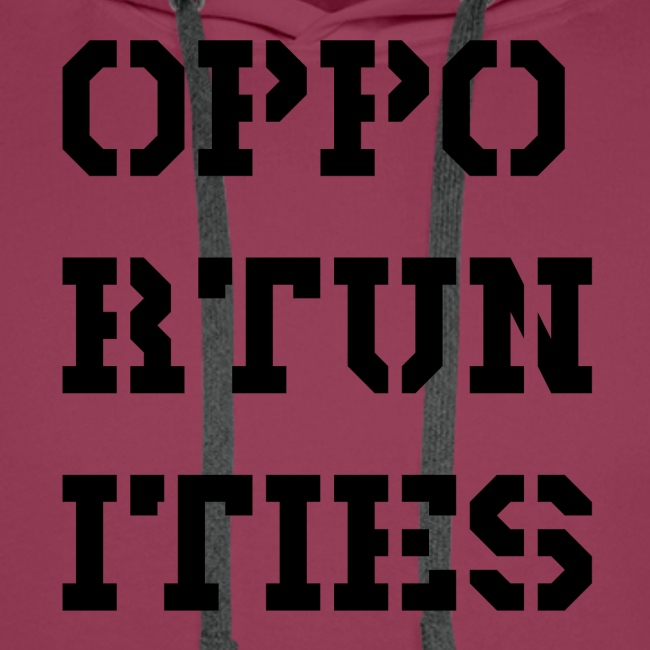 Opportunities - Gelegenheiten - schwarz