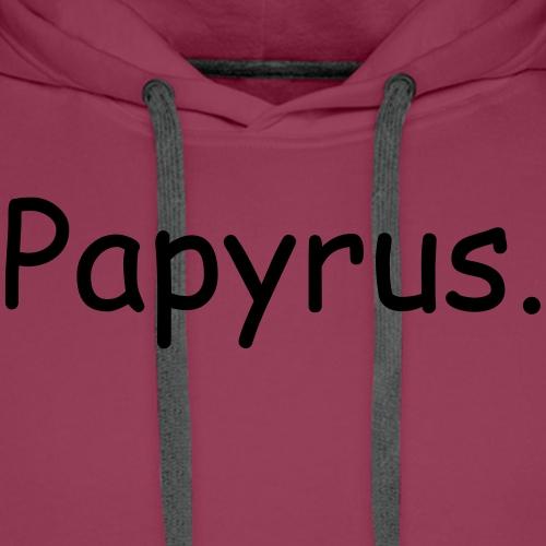papyrus - Männer Premium Hoodie