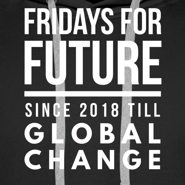 Fridays for Future till GlobalChange RescueTheBlue