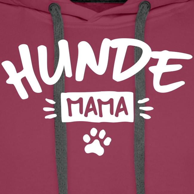 Vorschau: Hunde Mama - Männer Premium Hoodie