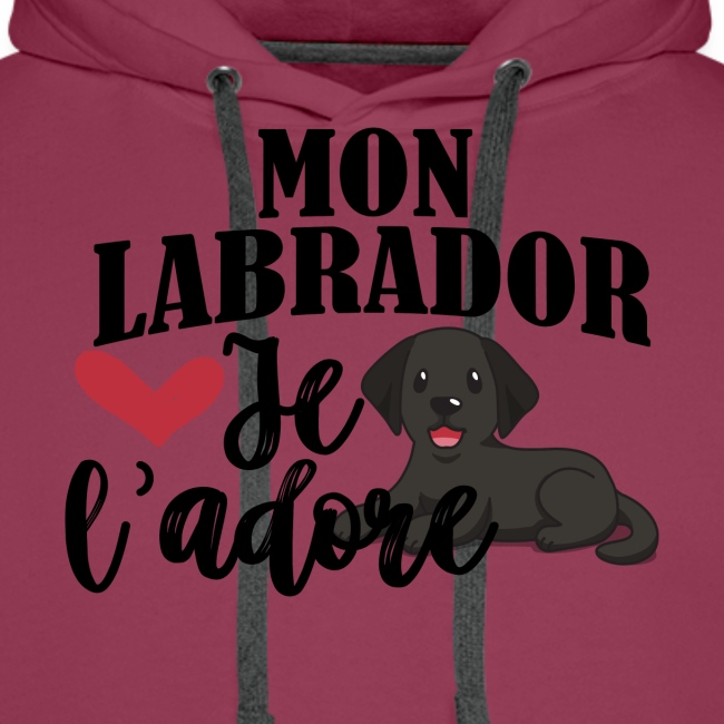 Mon Labrador Je L'adore