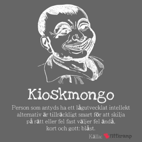 Kioskmongo - Premiumluvtröja herr