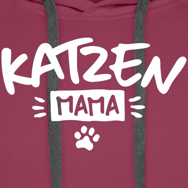 Vorschau: Katzen Mama - Männer Premium Hoodie