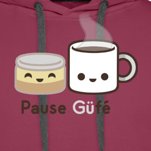 Güfé - Sweat-shirt à capuche Premium pour hommes