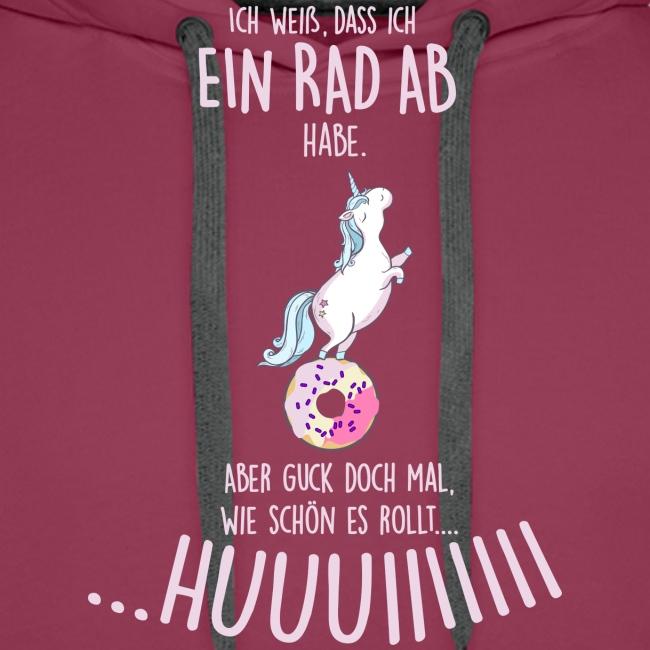 Vorschau: rad ab_einhorn - Männer Premium Hoodie