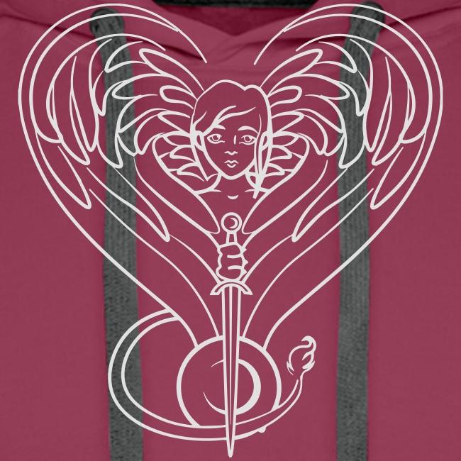 Sphinx valentine white