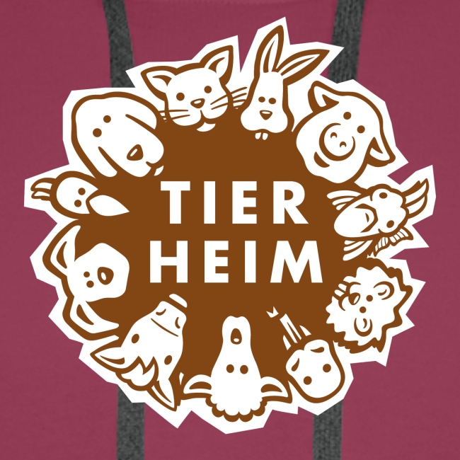 Tierheim Logo braunweiss