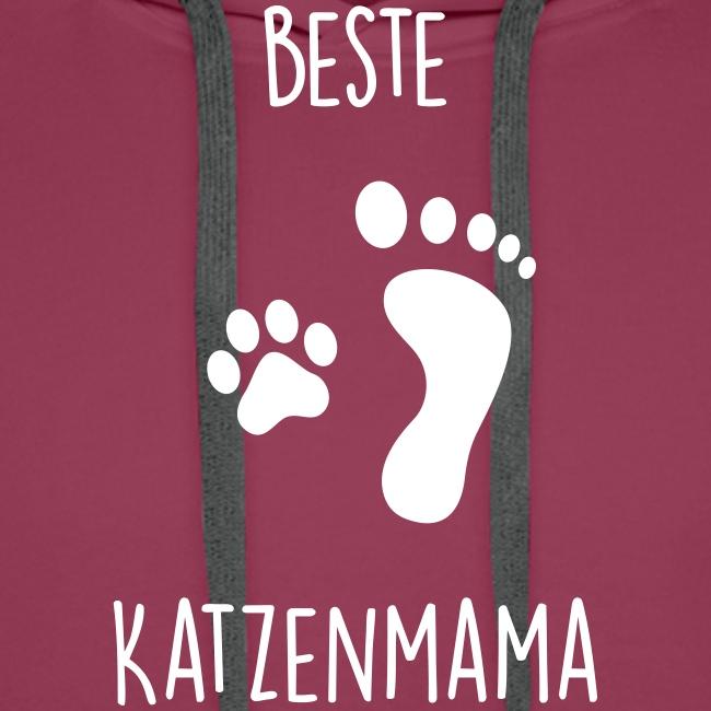 Vorschau: Beste Katzenmama - Männer Premium Hoodie