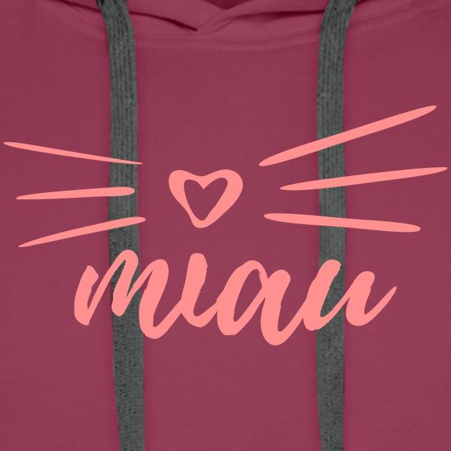 Vorschau: miau - Männer Premium Hoodie
