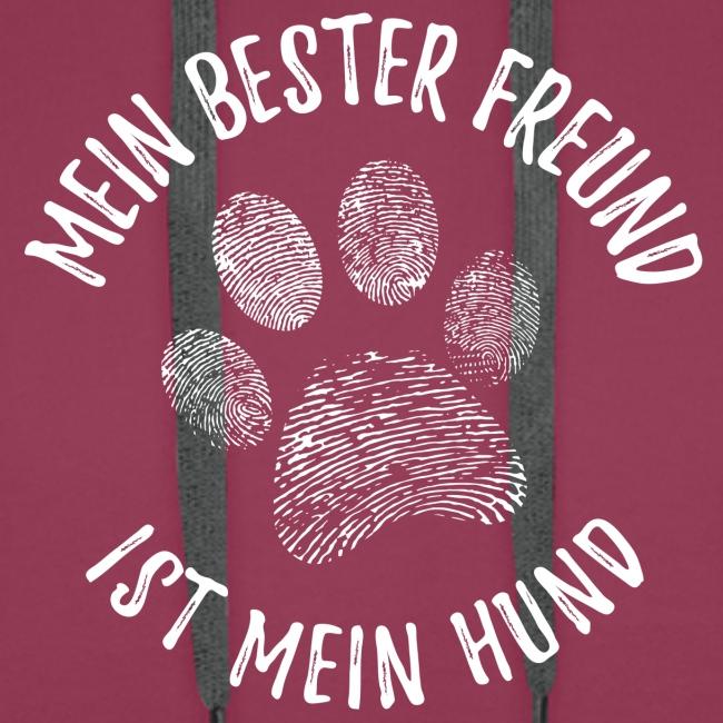 Vorschau: Mein Hund Bester Feund - Männer Premium Hoodie