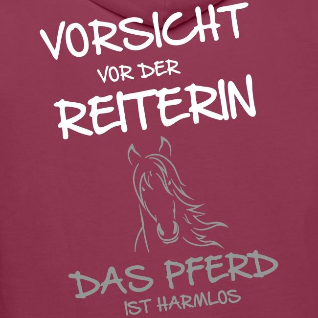 Vorschau: Vorsicht vor der Reiterin - Männer Premium Hoodie