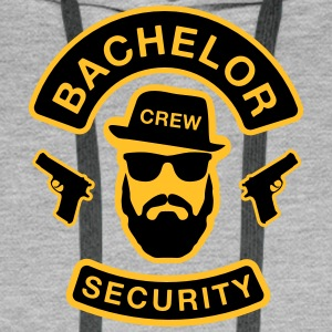 Bachelor Security - JGA T-Shirt - Groom's Shirt - Men's Premium Hoodie
