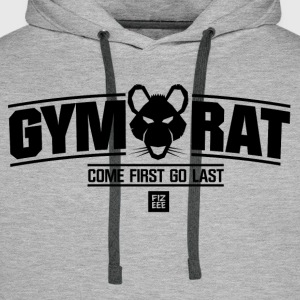 GYM RAT FITNESS WEAR - Männer Premium Hoodie