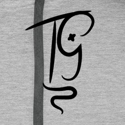 ThomaGeddon - Schwarzes Logo - Männer Premium Hoodie