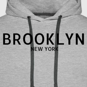 Brooklyn NYC - Premium hettegenser for menn