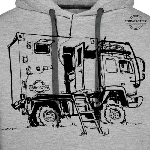 Expedition Truck   Terratrotter® - Men's Premium Hoodie
